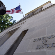 The Justice Department building in Washington, D.C. on Thursday, Aug. 27, 2015.