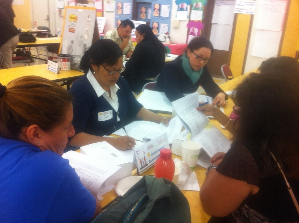 L..A. Unified parents were elected by their peers to make recommendations on Superintendent John Deasy's spending plans, but found important details missing.