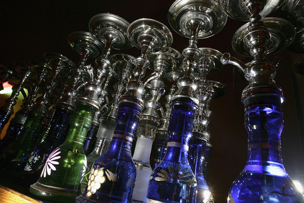 The ancient Middle Eastern practice of smoking flavored tobaccos through a tall, ornate water pipe, or hookah, has become increasingly popular throughout the United States. Hookah lounges are becoming trendy in college towns.