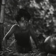 "Still from the 1955 film ""Pather Panchali"""