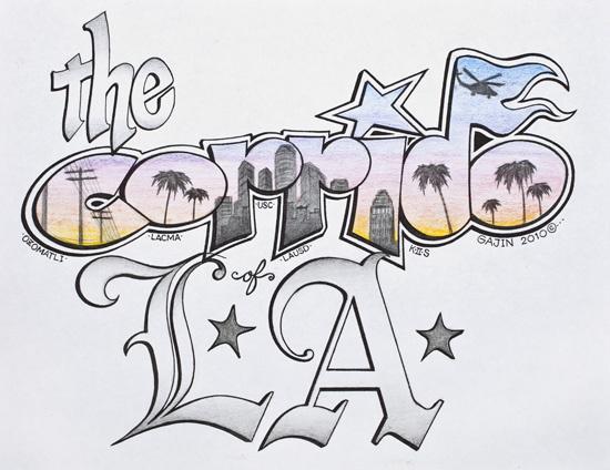 Image: Gajin Fujita, The Corrido of L.A., 2010