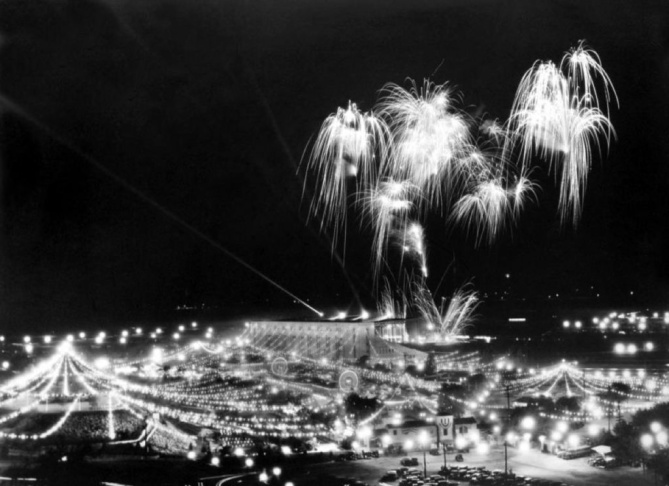 L.A. County Fair fireworks from the 1930s.