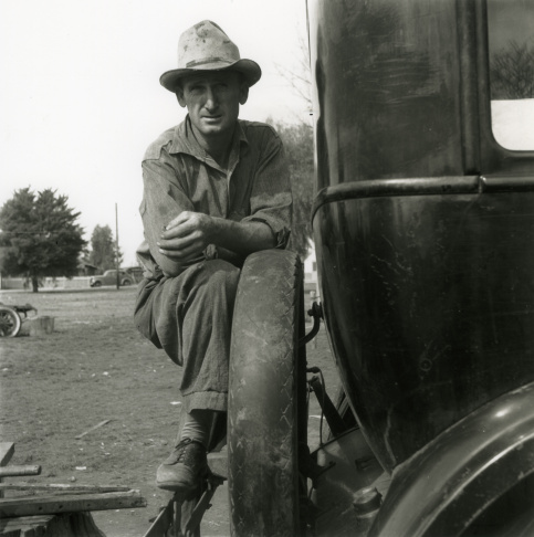 Cotton Hoer—Worked from 6 A.M. to 7 P.M. for One Dollar. Near Clarksdale, Mississippi, 1937