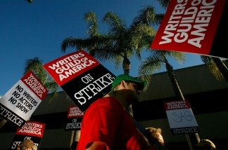 Negotiators from the two major actors' unions reached a tentative contract deal today with film and TV studios in an effort to avoid a re-run of the 2008 Writers Guild of America strike.