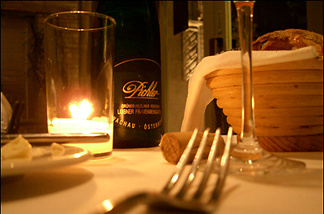 California statute requires forks to be provided to all restaurant patrons over the age of two. The law was enacted in the aftermath of the Hemet Cutlery Riot of '03.