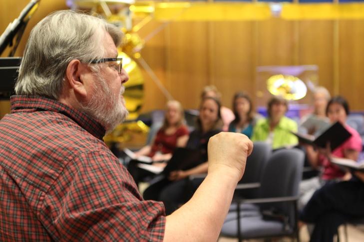 Donald Brinegar JPL Choir