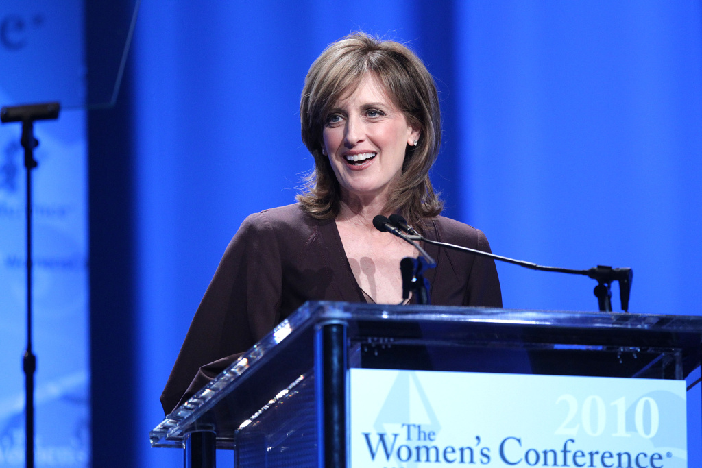Anne Sweeney, Co-Chair, Disney Media Networks, President, Disney/ABC Television Group speaks the Maria Shriver Women's Conference at the Long Beach Convention Center on Oct. 25, 2010 in Long Beach. There is a lot of speculation on who her successor at Disney will be.