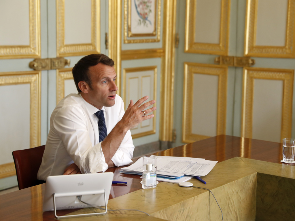French President Emmanuel Macron will isolate himself for seven days after testing positive for the coronavirus.