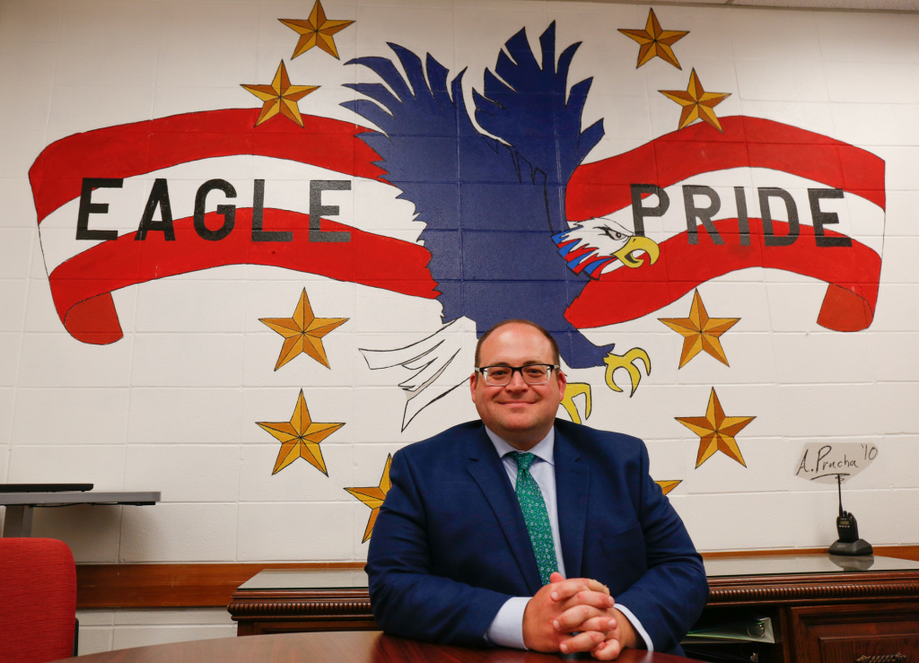 "American High School Principal Steve Musto selected Navarrete for the school's ""Teacher of the Year"" annual award. ""He's a great teacher,"" said Musto. ""He always has a smile on his face even when he's in a challenging circumstance."""