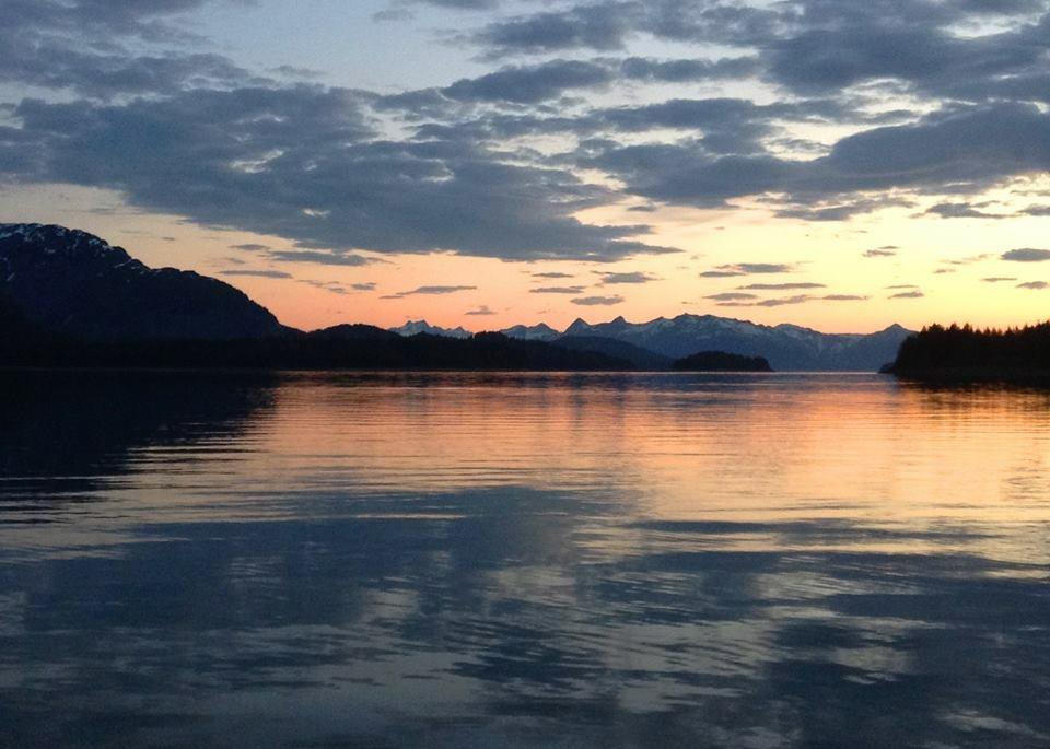 Glacier Bay Bay National Park — Summer Solstice 2013 — 3:00 a.m.