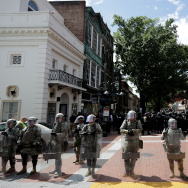 "Violent Clashes Erupt at ""Unite The Right"" Rally In Charlottesville"