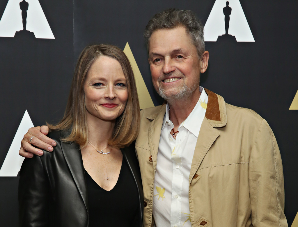 Jodie Foster and director Jonathan Demme at The Academy Museum presents 25th Anniversary event of