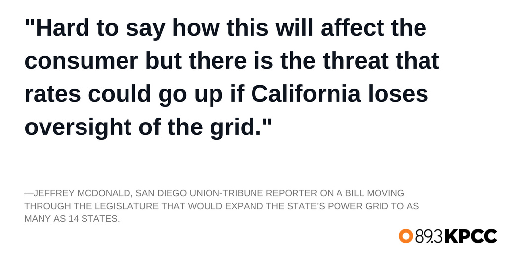 Jeffrey McDonald weighs in on a bill moving yet again through the legislature that would expand the state's power grid to as many as 14 states.