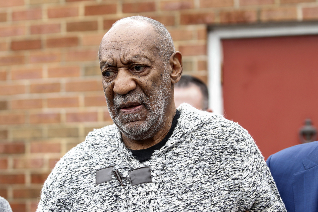 File: Bill Cosby leaves the Court House in Elkins Park, Pennsylvania on Dec. 30, 2015 after arraignment on charges of aggravated indecent assault. Cosby was arraigned over an incident that took place in 2004 — the first criminal charge filed against the actor after dozens of women claimed abuse.