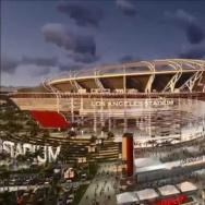 The proposed NFL stadium in Carson.