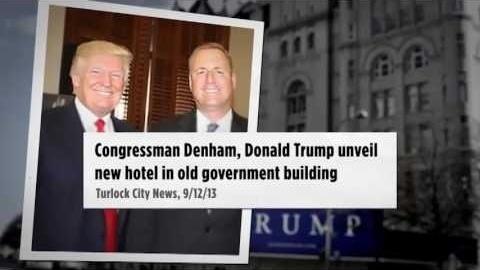 DCCC's 'Trump's Man' campaign video