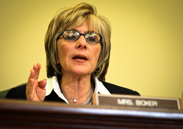 U.S. Sen. Barbara Boxer (D-CA), head of the Environment and Public Works Committee, has been meeting every few weeks with the chairman of the NRC about the shuttered San Onofre nuclear plant.