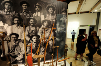 Inside Los Angeles' La Plaza de Cultura y Artes, a museum dedicated to telling the story of the city's Mexican origins. In a recent study of L.A. immigrants, researchers concluded that when success is measured by what's accomplished from generation to generation, Mexican Americans come out ahead.