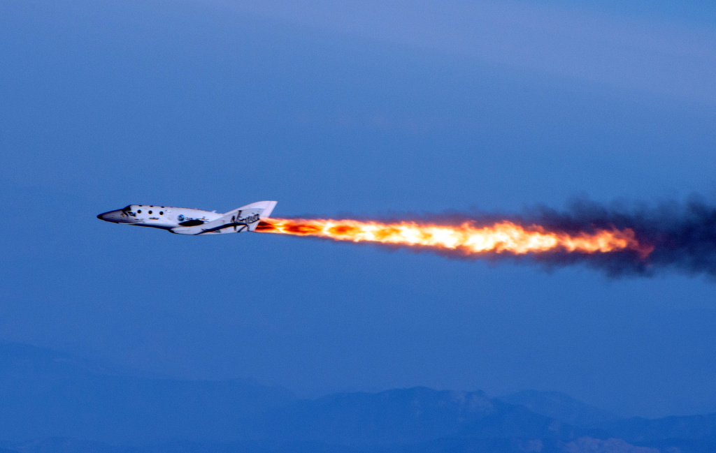 Lyft Credit Card >> Video: Virgin Galactic's SpaceShipTwo crash leaves 1 dead, 1 injured | 89.3 KPCC