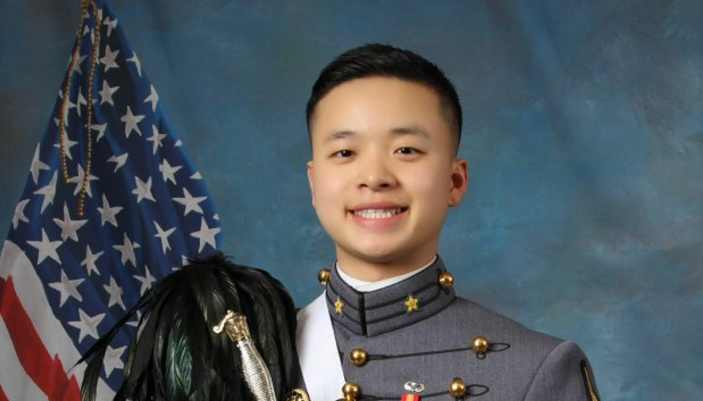 Peter L. Zhu, a deceased West Point cadet, now at the center of a bioethical debate.