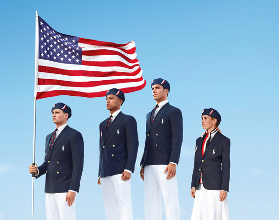 "Ralph Lauren's recently released pictures of their 2012 U.S. Olympic uniforms have ruffled feathers across the United States, from those complaining of the Chinese manufacturing to those who just say the uniforms ""look stupid."" A stage employers' union has offered to replace all Chinese-made U.S. Olympic uniforms — which means replacing all American uniforms in two weeks."