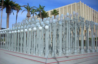 "Los Angeles County Museum of Art: Chris Burden's ""Urban Light"""
