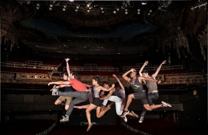 Dancers from the L.A. Dance Project.