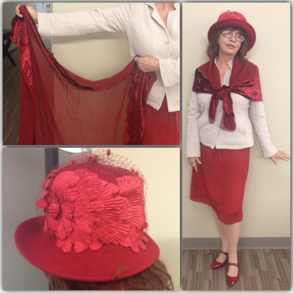 Patt Morrison's outfit for March 14, 2013.