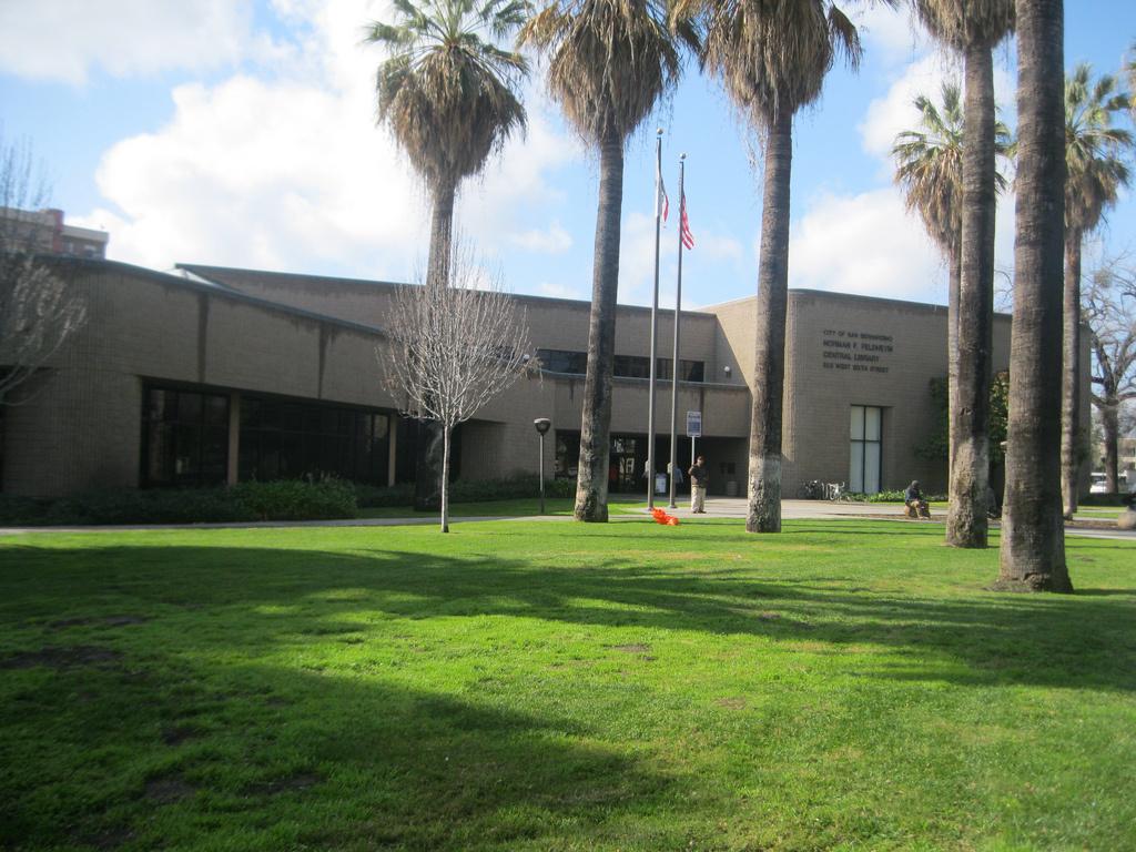 Norman F. Feldheym Public Library, San Bernardino, CA