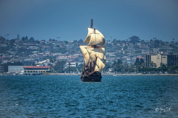 Pacific Heritage Tour - San Salvador - Catalina Island Adventure Sailing Experience