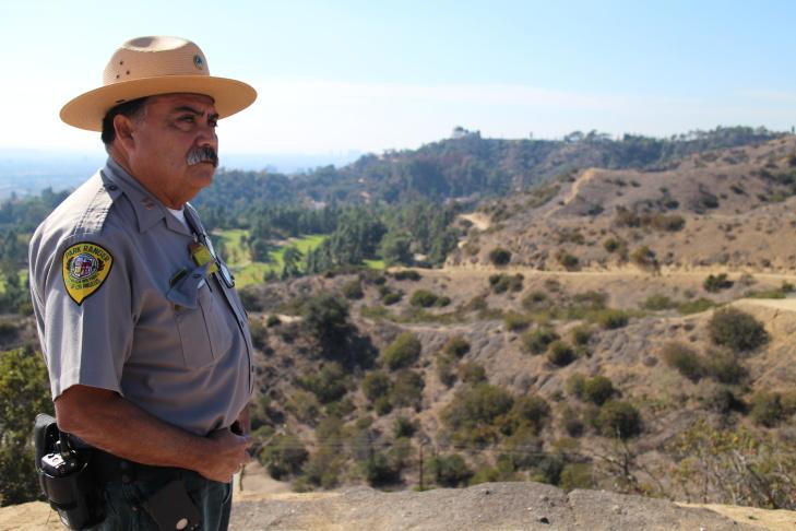 Albert Torres, senior park ranger