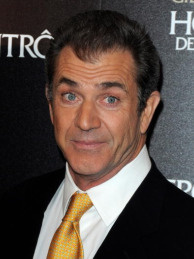 Mel Gibson poses as he attends the film premiere of 'Edge Of Darkness' at Cinema UGC Normandie on February 4, 2010 in Paris, France.