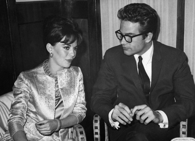 American actors Warren Beatty and Natalie Wood