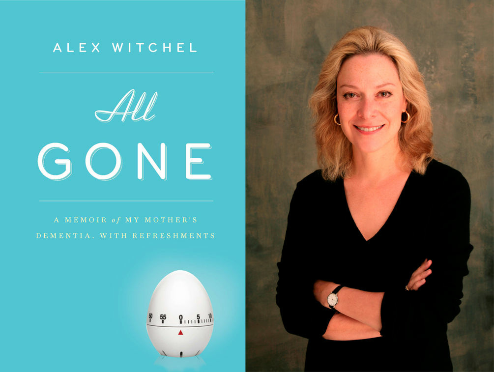 Author Alex Witchel and her new book