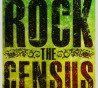 "Image of the flyer for ""Rock the Census' event at MacArthur Park in Los Angeles."