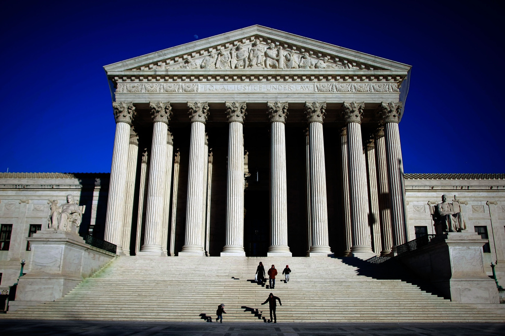 File:  The U.S. Supreme Court is shown Feb. 5, 2009 in Washington, DC.