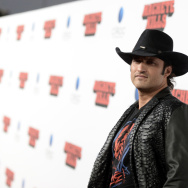 El Rey, which will be targeting a young Latino audience, is being spearheaded by filmmaker Robert Rodriguez, shown at the premiere of his recent film Machete Kills in October.