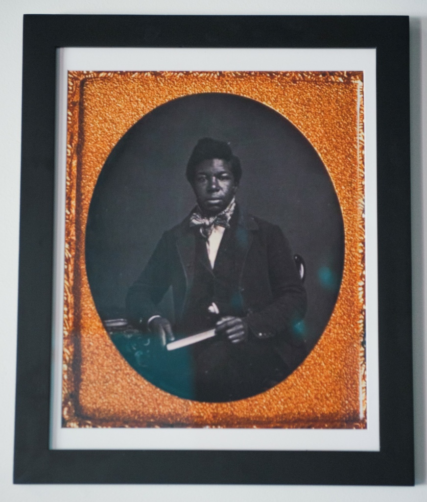 Sam Haskins, hired by the L.A. fire department in 1892 and killed while while responding to a fire in 1895, was the city's first known black firefighter. His portrait hangs in the African American Firefighter Museum in Los Angeles, California.
