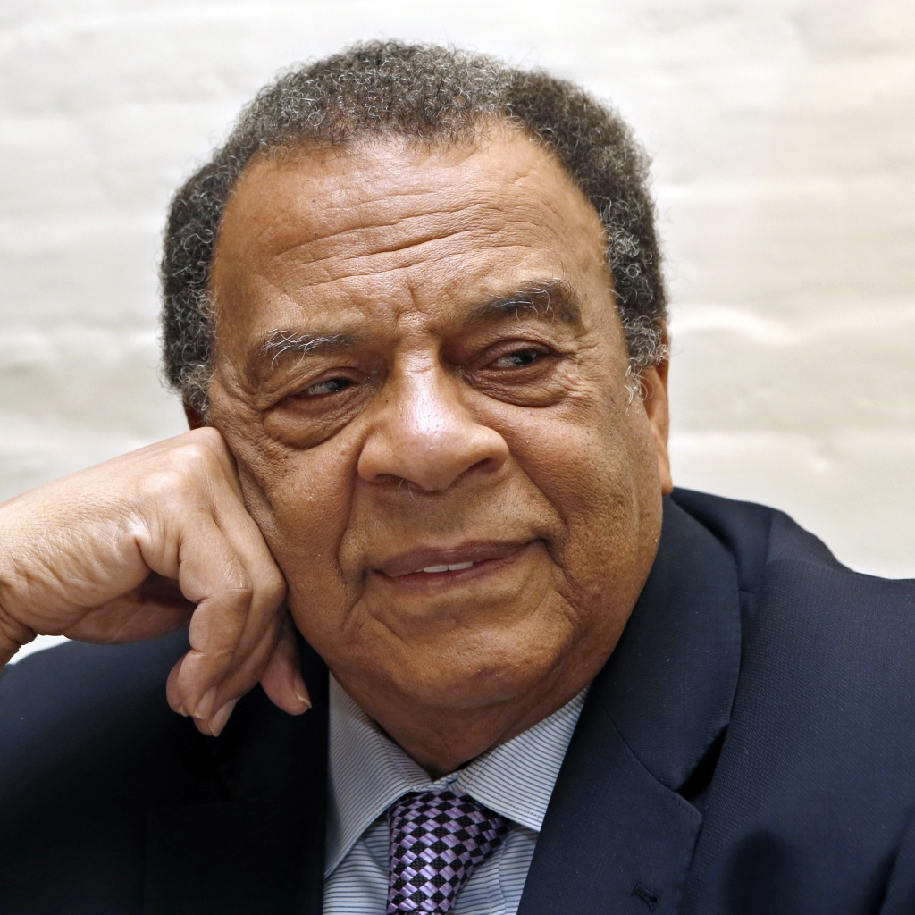 Andrew Young, Chair, Andrew J. Young Foundation (AP Photo/Kathy Willens)