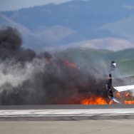 APTOPIX Air Show Plane Crash