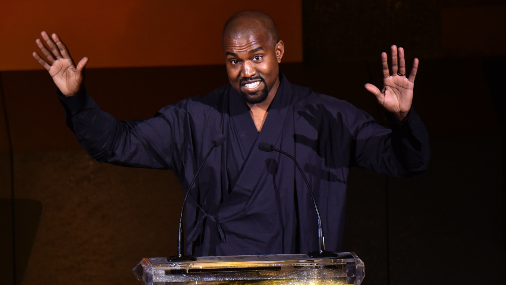 Kanye West at the 2015 CFDA Fashion Awards at Alice Tully Hall at Lincoln Center on June 1, 2015 in New York City.
