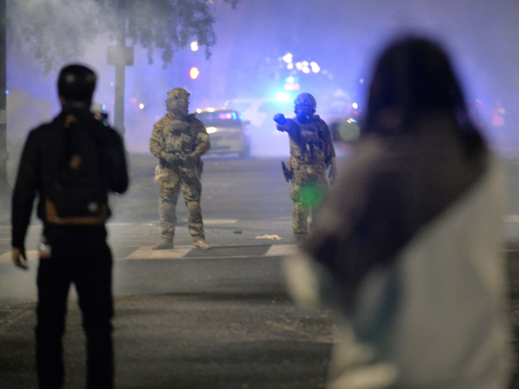 A federal judge has denied Oregon Attorney General Ellen Rosenblum's request for a temporary restraining order against what she described as unconstitutional tactics by federal officers deployed to protests in Portland.