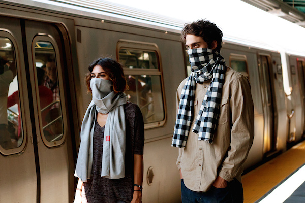 The Germinator Transit Jacket bills itself as being able to protect you from germs when you're on the go.