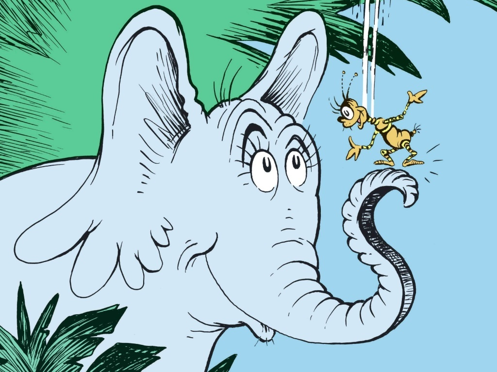 Marco and other familiar Seuss characters — such as Horton and the Grinch — make an appearance in the collection of