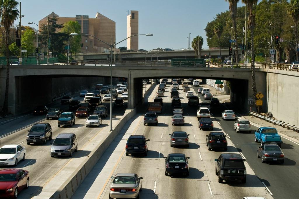 LA traffic.