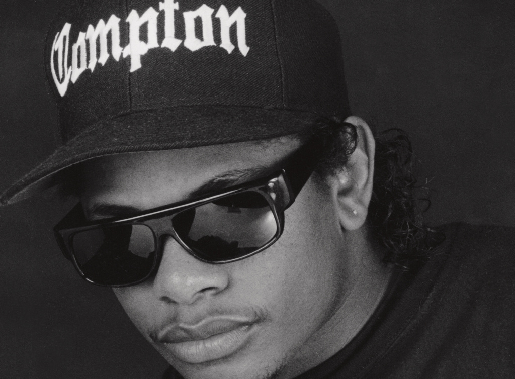 "Eazy-E, Burbank, 1980s. ""He was a cute little guy but was real solid. He looked very powerful. The times I saw him he was always with a different pretty girl. Whenever N.W.A. would come to my studio in Burbank, across from NBC, they'd come by way of Taco Bell."""