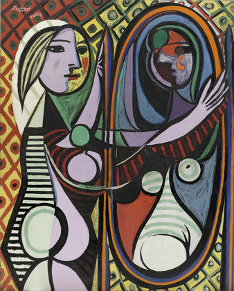 Picasso's 1932 painting, which is now hanging in New York's Museum of Modern Art. Lawyers point to a print of this painting that hung in a Miramonte classroom.