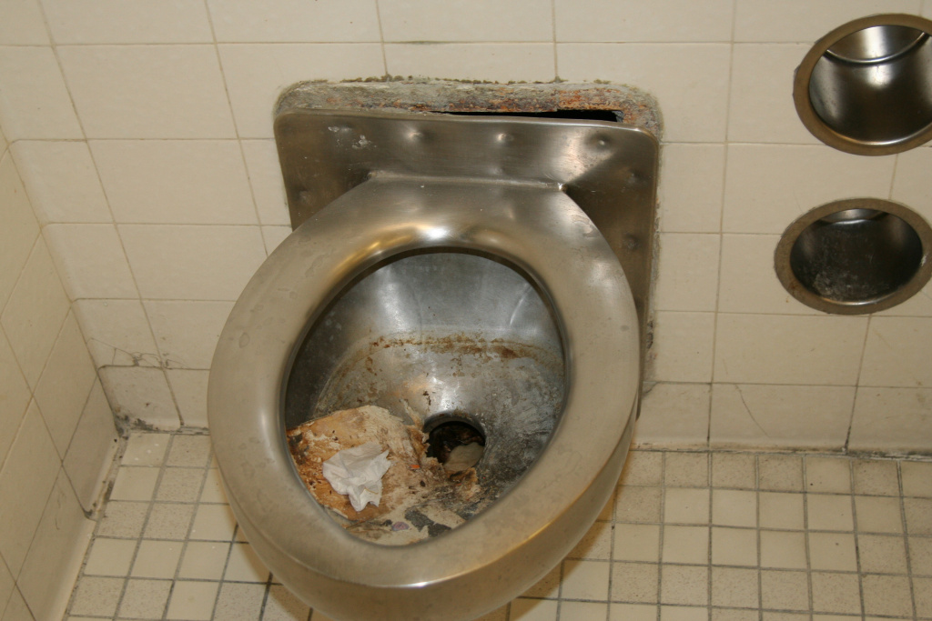 The American Civil Liberties Union of Southern California says conditions inside Men's Central Jail in downtown Los Angeles often are filthy - an allegation the L.A. County Sheriff's Department denies.