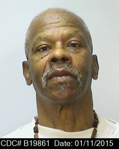 This image provided by the California Department of Corrections and Rehabilitation shows a photo of Larry Stiner. Under a year-old California policy, convicts deemed too old to commit new crimes can be released from prison on parole. Stiner, who had been sentenced to life in prison after two Black Panthers leaders were killed during a 1969 shootout at the University of California at Los Angeles, is among the dozens of inmates is who have been released under the new policy.