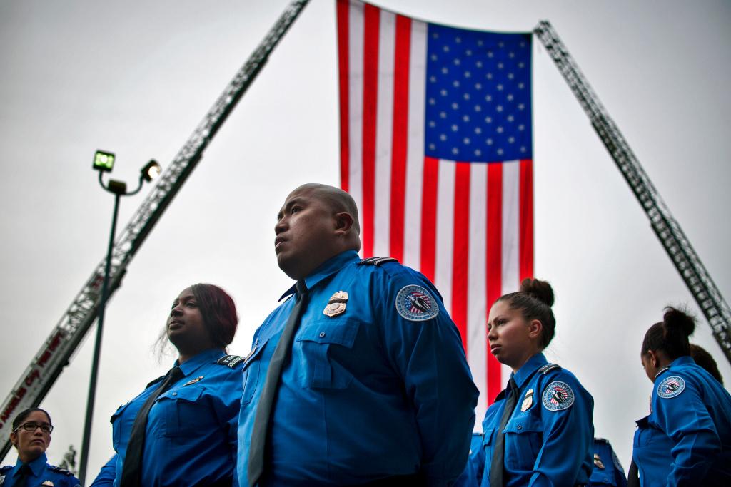 Public memorial held for TSA officer killed in LAX shooting